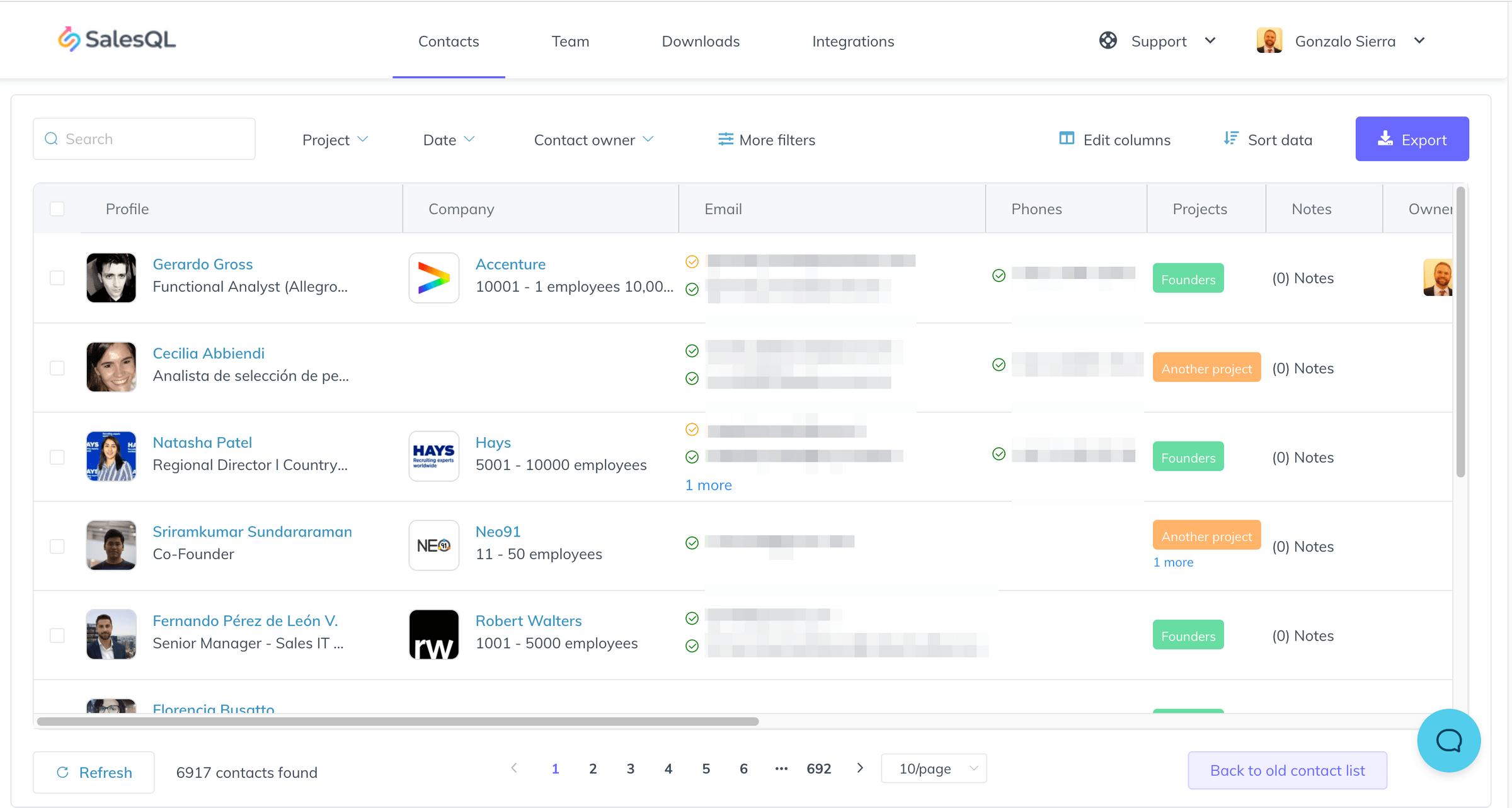salesql dashboard 2020 1