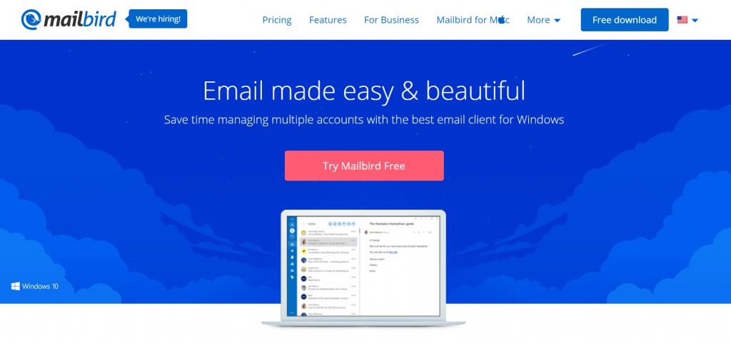 Mailbird screenshot