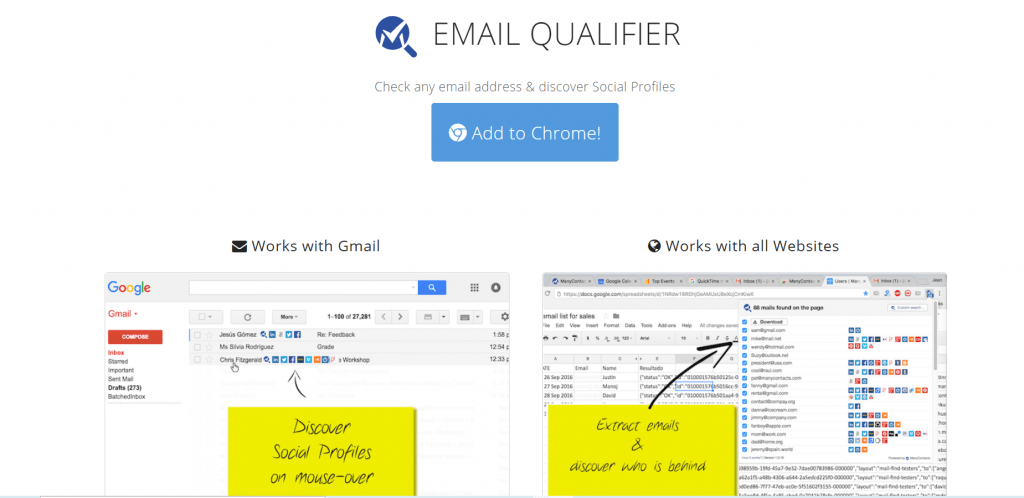 Email Qualifier Extension