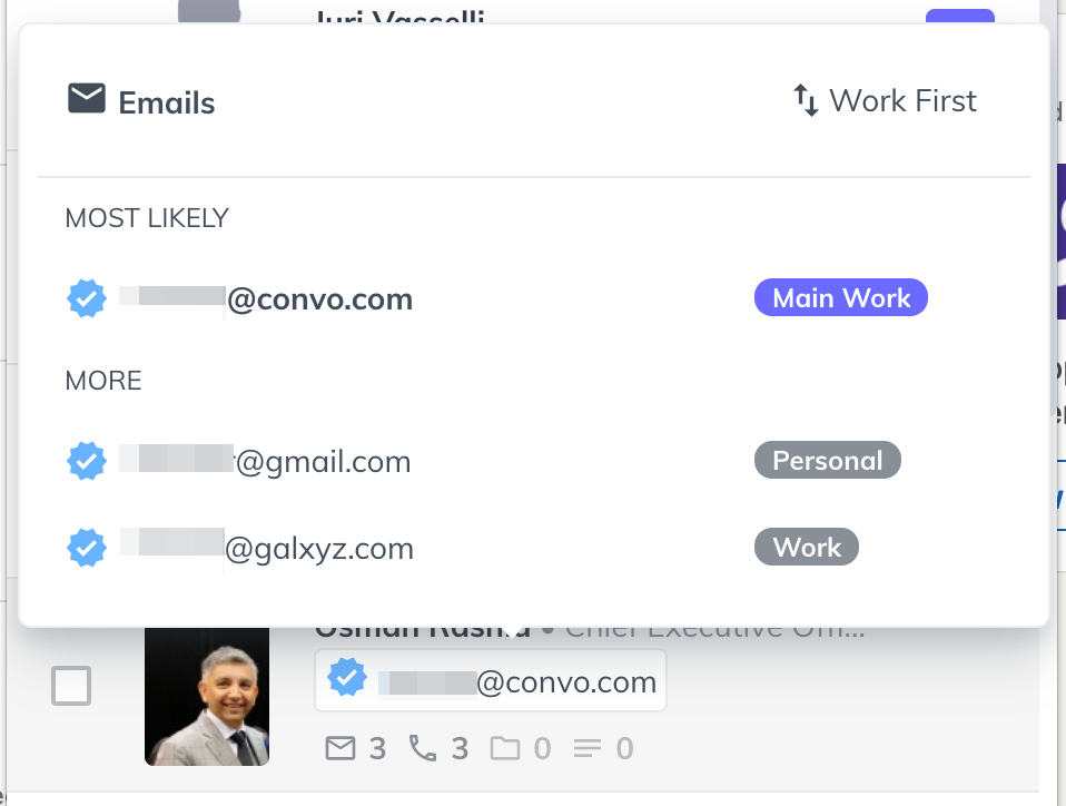 new extension email addresses ui 1