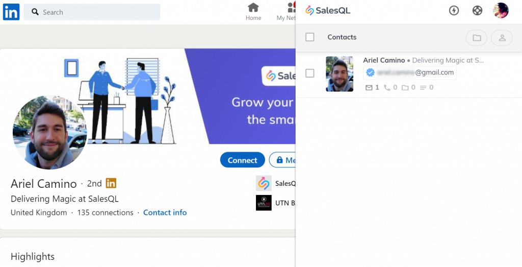 SalesQl tool screenshot
